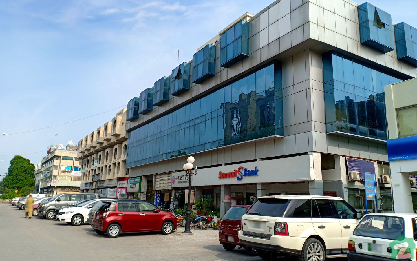 Several Banks are located inside Blue Area, Islamabad