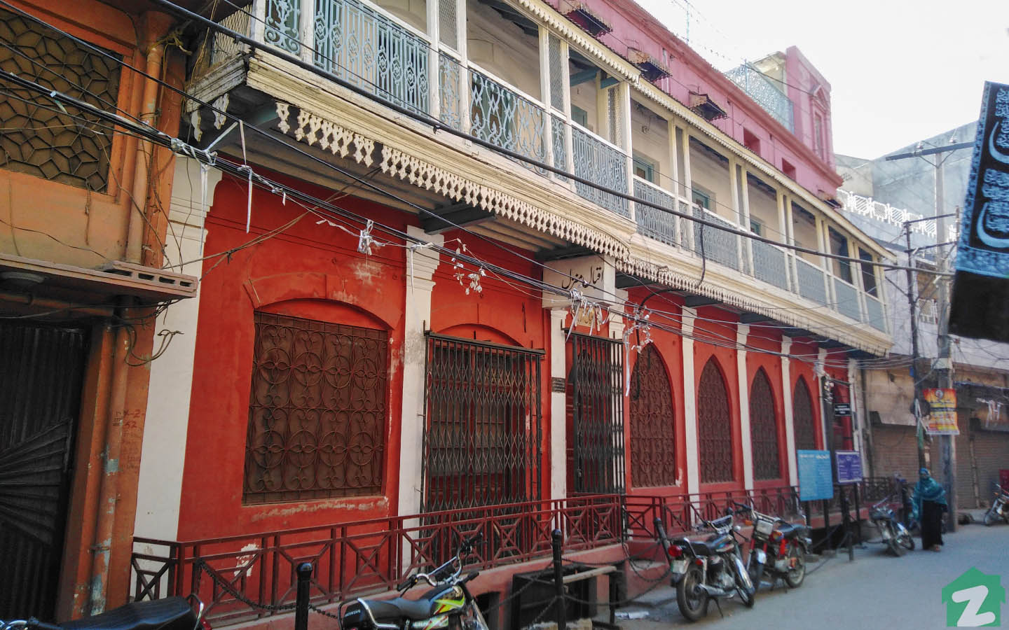 Iqbal Manzil was first bought in 1861 by Allama Iqbal's grandfather.