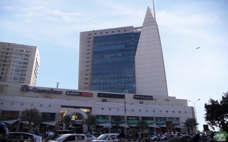 Dolmen city mall near Phase 7, DHA Karachi