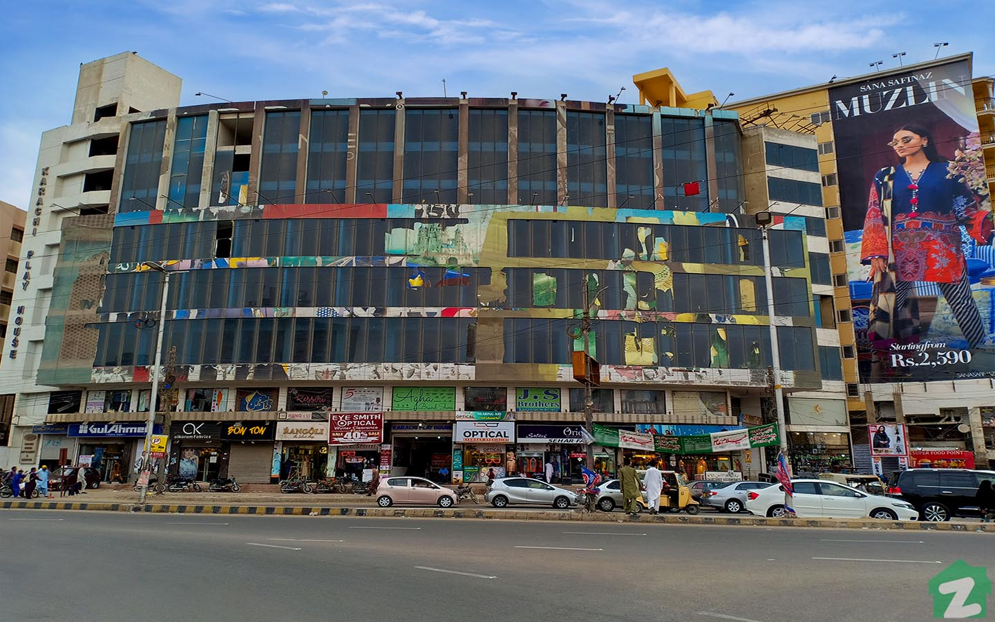 Gulf Shopping Mall is located in Clifton Karachi.