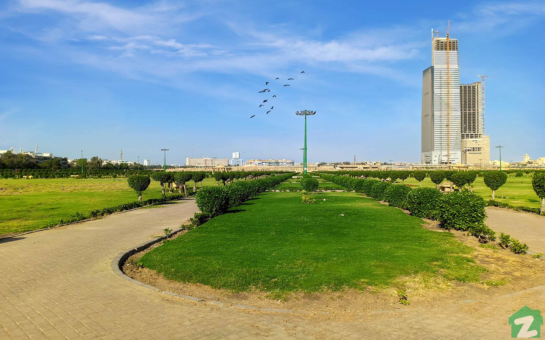 A view of Bagh Ibn-e-Qasim
