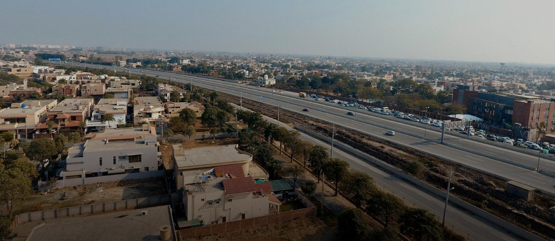 Khayaban-e-Jinnah Road, Lahore