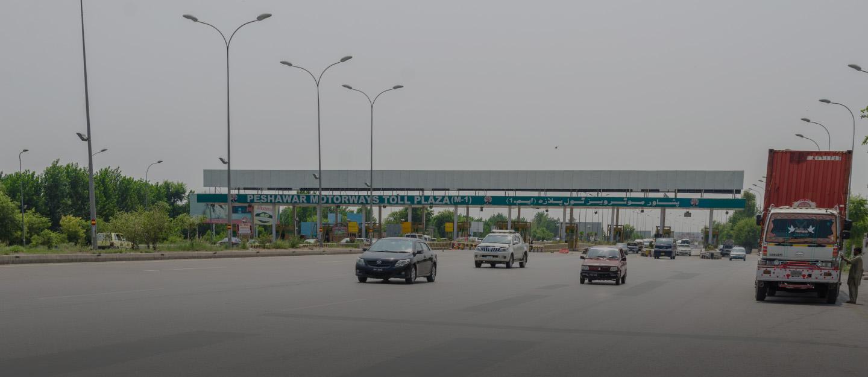 M1 Motorway/Islamabad-Peshawar Road is almost 3 km away from OPF Housing Scheme Peshawar.