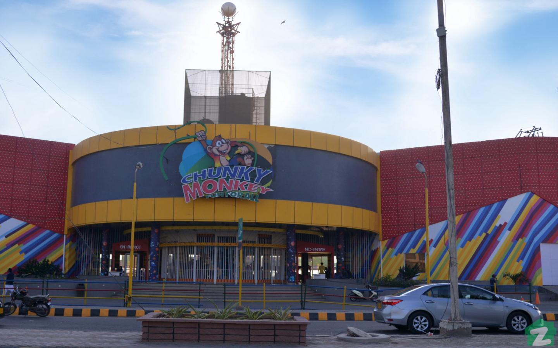 Chunky Monkey Amusement Park is located in Nisar Shaheed Park DHA Phase IV Karachi