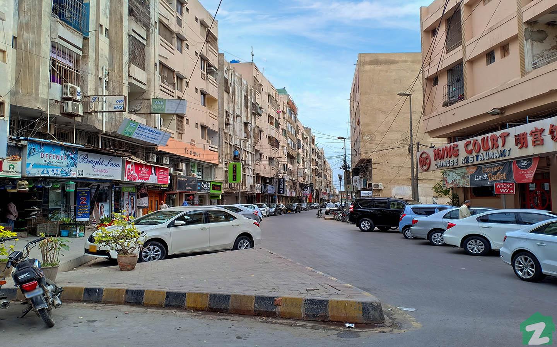 Khadda Market is located less than 2 km away from DHA Phase IV Karachi