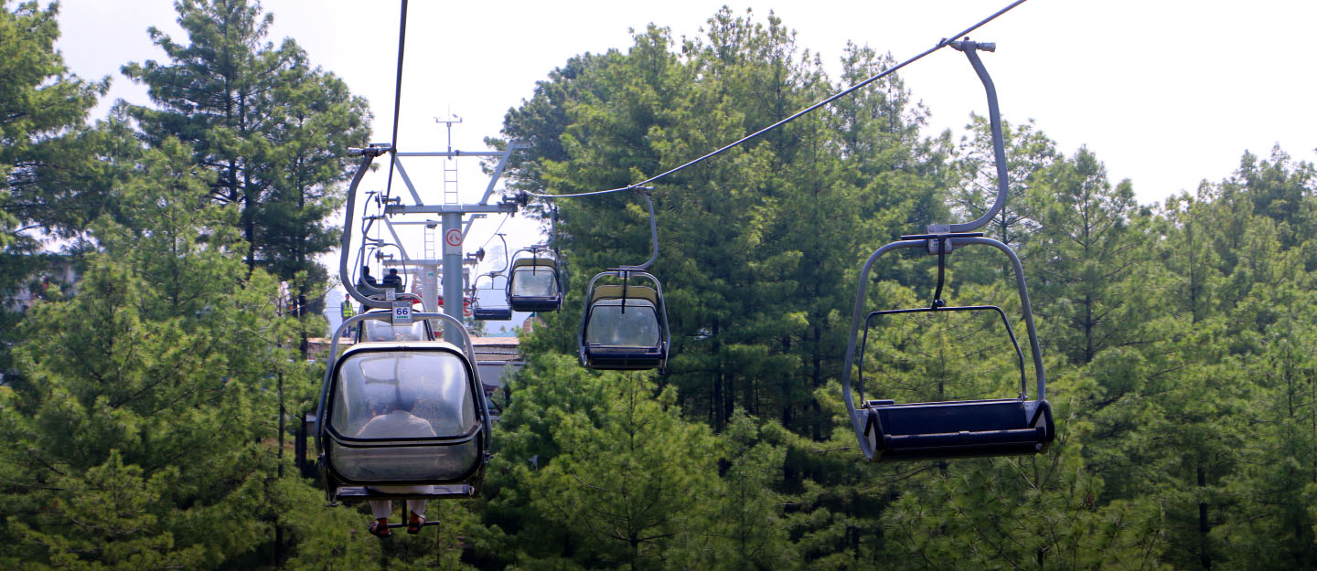 Chairlifts in New Murree Patriata