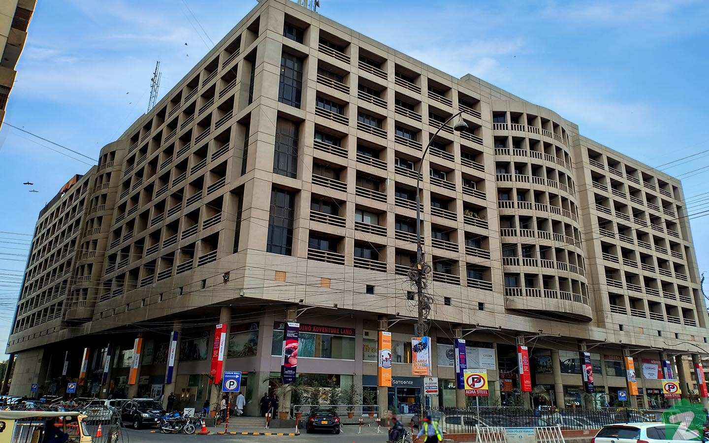 Forum Mall is one of the oldest and most popular shopping malls located near DHA Phase IV Karachi