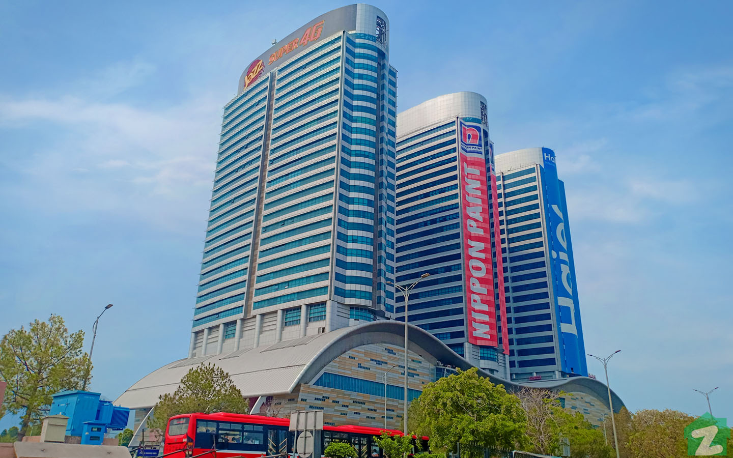 Centaurus Mall is one of the most significant landmarks in Islamabad