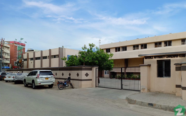 Defence Authority Zamzama Club.