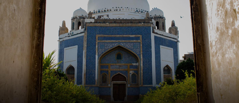 Tomb of Mian Ghulam Nabi Kalhoro near New Hyderabad City