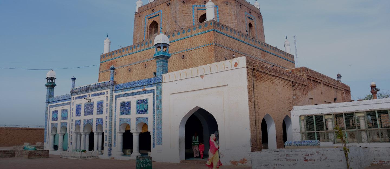 Thronged by huge crowds every day, Darbar Hazrat Bahauddin Zakariya is almost 13 km away from Pearl City Multan.