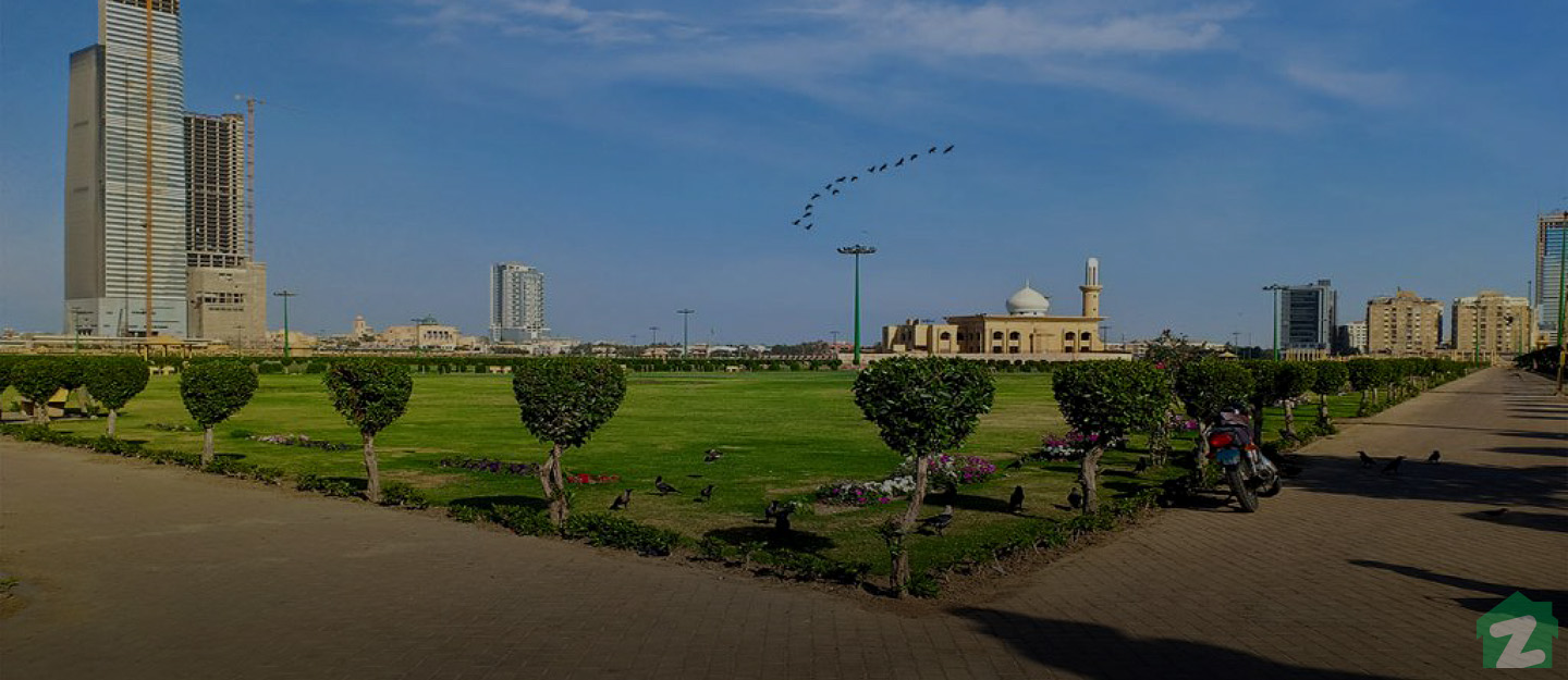 Bagh-e-Bin Qasim is one of the most beautiful and largest parks located near Phase 5, DHA