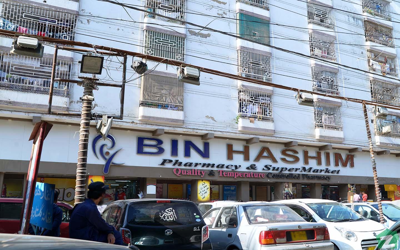 Markets in Gulistan-e-Jauhar, Karachi