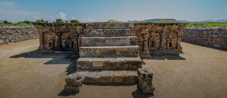 Sirkap Remains, Taxila, an Archaeological Site