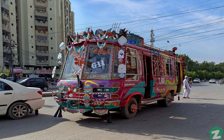Buses in Karachi
