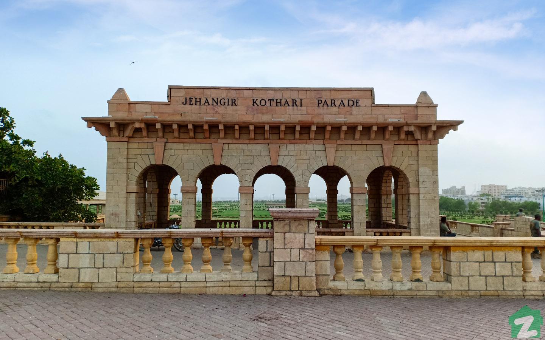 Jahangir Kothari Parade is a historical landmark.