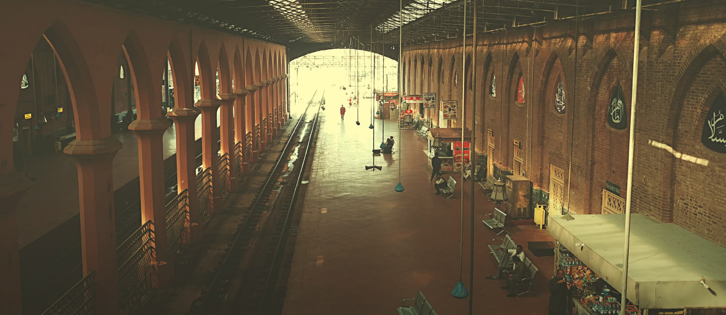 Internal Architecture of Lahore Junction Railway Station