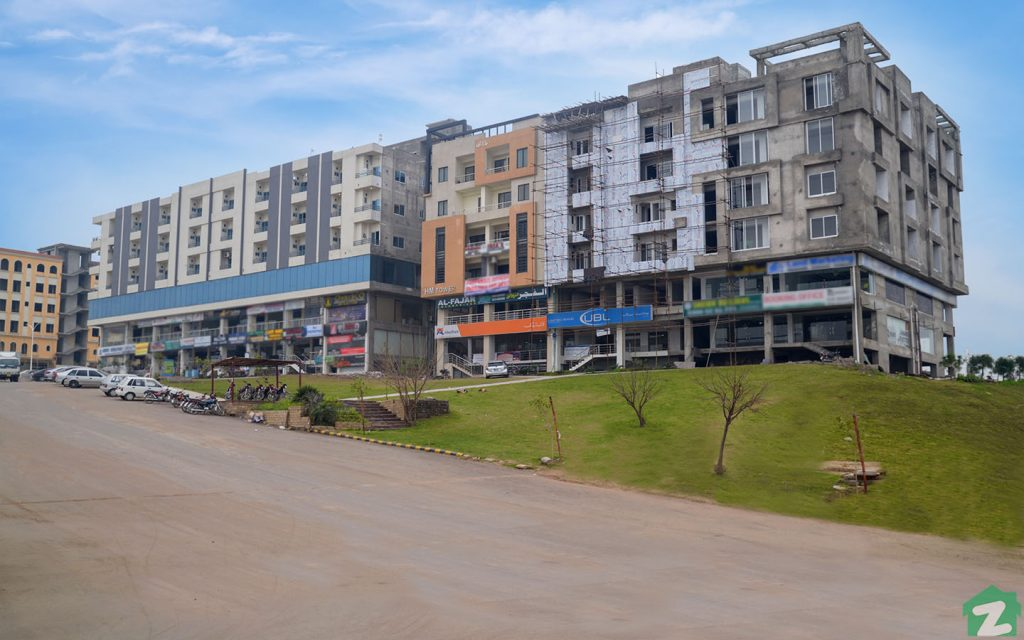 Commecial Buildings around Gulberg Business Square, Islamabad