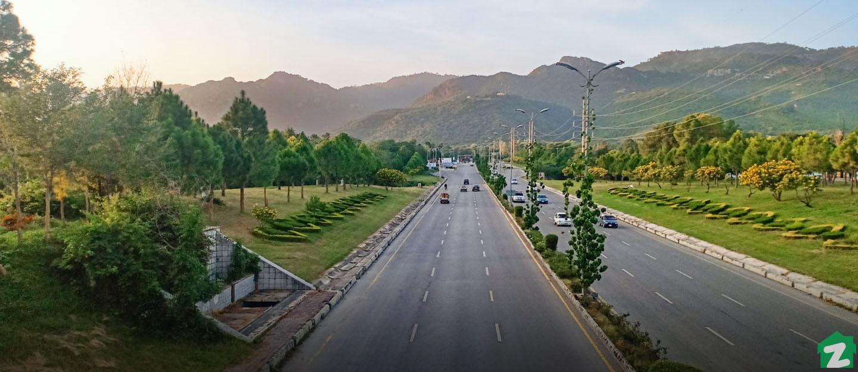 Jinnah Avenue near F-7