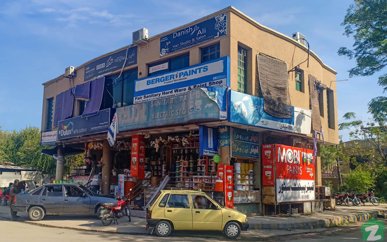 Faisal Market boasts every item of need.